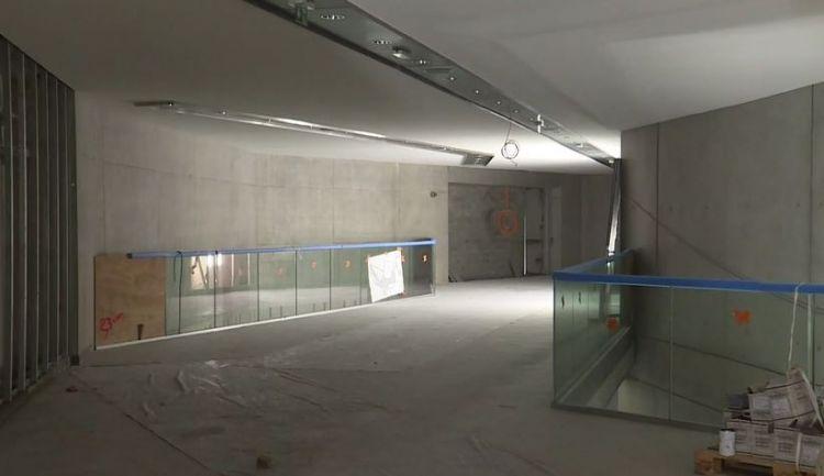 Station Sainte-Anne - Janvier 2020 - Pose du carrelage et peinture du plafond