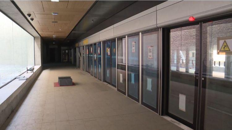 Station La Courrouze - Février 2020 - Finitions menuiseries et plafonds