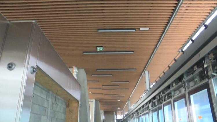 Station Atalante - Juin 2020 - Poursuite du second oeuvre
