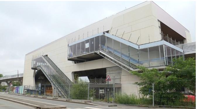 Station Beaulieu-Université - Juin 2020 - Poursuite du second oeuvre