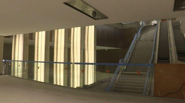 Station Sainte-Anne - Aout 2020 - Poursuite du second oeuvre