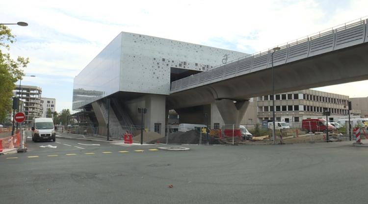 Station Atalante - Septembre 2020 - Poursuite du second oeuvre
