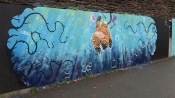 Station Jules Ferry - Graffeur et peintre : Kaviart
